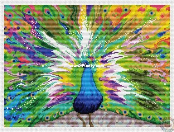 JCA Elsa Williams 2193 Rainbow Peacock