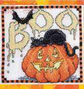 Just Cross Stitch - Boo by Sharon Pope - Free