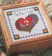 My Crazy Heart from The Cross Stitcher USA