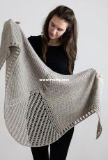 The Cables Collection-Hometree Shawl by Jana Huck-English,German