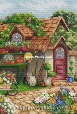Summer Cottage by Natalia Cherepanova