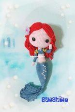 Mermaid Princess Series-Merida