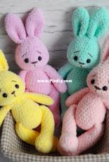 Chudotsatsa - Diana Patskun - Soft Bunny Amigurumi - Translated - Free