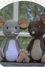 Danis Creaties - Danielle Eveleens - Mouse Melvin - Dutch