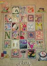 Brooke's Books - Stitchers Alphabet - Complete - Free
