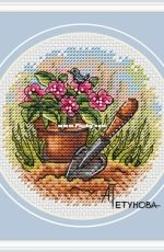 Flower Pot by Anna Petunova