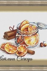 Cinnamon with Lemons by Svetlana Sichkar