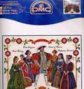 DMC Henry VIII and Wives Sampler