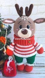 Baby Eco Toys - Irene Esaulova - Harry Reindeer - Spanish