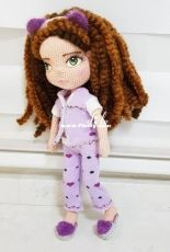 Sleepy Doll designed by Dicle Yaman