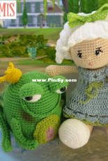Galamigurumis - Gala Rebes - The frog prince - Spanish