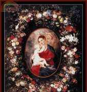 Cross Stitch Collectibles REL-04 - Madonna and Child