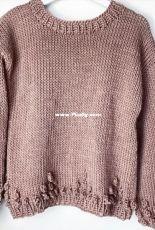 The Queen Sweater by Melanie Reinert - English