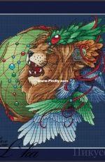 Lkacross - Dream Catcher Lion 2 by Natalia / Natalya Orekhova