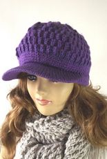 Claire Newsboy Hat by Lilia Vanini