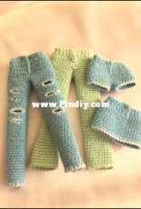 Kindabam Crochet - Kate doll and clothes (English )