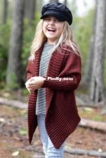 The Feuille Cardigan by The Velvet acorn