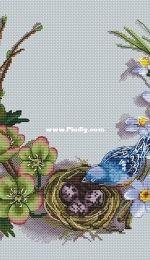 Paradise Stitch - Cozy Nest by Olga Lankevich