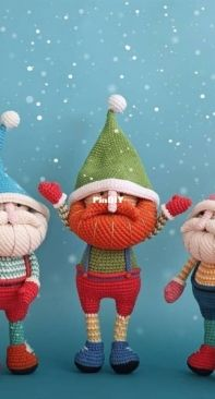 Natura Crochet - Natasha Tishchenko - Mr. Gnome - Russian