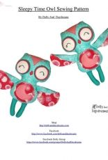 Dolls and Daydreams-Sleepy Time Owl Sewing Pattern
