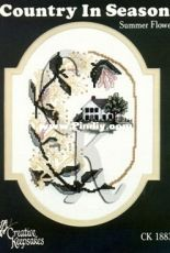 Creative Keepsakes CK 1883 - Country in Season Summer flowers
