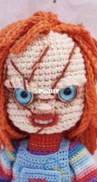 Guichai Crochet Dolls - Armano Ginji - Teechalit Wattanawongwisut - Chucky