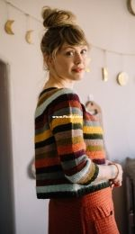 STRIPES! Sweater by Andrea Mowry