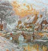 Thomas Kinkade Cobblestone Christmas