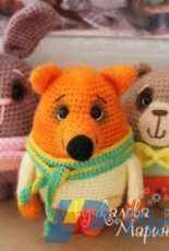 Marina Chuchkalova - Bear Bunny and Fox