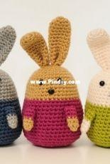 Nea Creates - Emma the Easter Bunny - Free