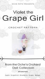 Oche Pots - Clare Cooper - Violet the Grape Girl - Portuguese - Translated