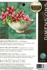 Needlework Dimensions 71-07237 Dogwood Blossoms