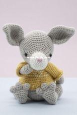 The Little Hook Crochet - Little Aqua Girl - Bubbles and Bongo - Erinna Lee - Boomer the kangaroo