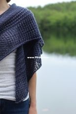 lakefront shawl by alicia plummer /two little plums