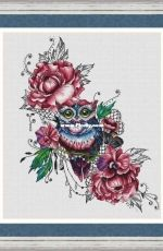 Flower Owl by Nadezhda Kazarina XSD