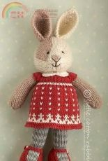 Little Cotton Rabbits- Seasonal dresses , Christmas by Julie Williams-Free