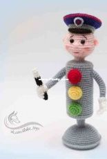 Liska Toys - Traffic Lights Guard - English translation