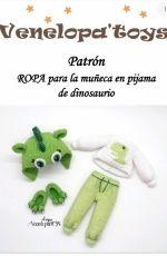 Venelopa Toys - Svetlana Udalchikova- Dinosaur Pajamas- Spanish