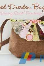 During Quiet Time -  Amy Friend - Scalloped Dresden Bag - Free