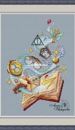 Green Terrace - Harry Potter - Magic Book by Anna Petunova