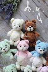 Julia Deinega - Little bears amigurumi - Translated - Free