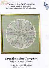 The Lace Studio Collection-Dresden Plate Sampler Blackwork