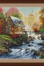 Water Mill by Lena Averina (Pavlova)