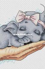 Elephant in a Hand by Svetlana Sichkar