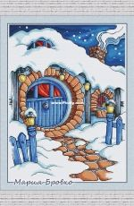 Winter in the Hobbits by Maria Brovko