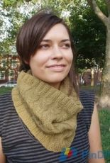 Nina Rose Knits-Eleanor Cowl by Nina Rose Abbonizio-Free