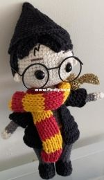 Green Frog Crochet - Harry Potter