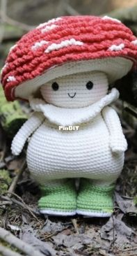My Crochet Wonders - Marina Chuchkalova - Mushroom dude
