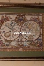Janlynn 015-0223, Old World Map