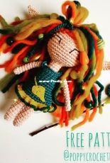 Poppy Crochet Design - Zsuzsanna Blaho - Autumn Elf Jennis - Free